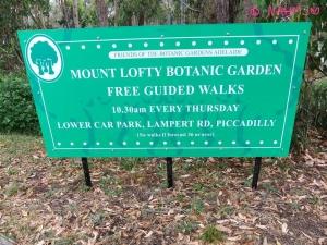 Mount Lofty Summit   Botanic Garden Information